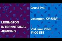 Bild: LIVE �  Grand Prix - Sophie C. Walker Perpetual Trophy - Lexington International - Jumping