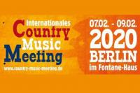 Bild: 10. Intern. Country Music Meeting vom 7.2. bis 9.2.2020